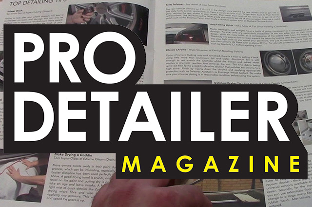 pro detailers video